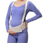 マタニティベルト 妊婦帯 産前産後 腹帯 フリーサイズ 骨盤ベルト腰痛緩和通気性良 冷房対策 簡単装着 妊娠帯 (M)