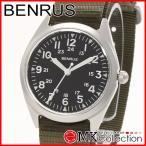 ベンラス 時計 メンズ 国内正規品 BENRUS 腕時計 おすすめ ナイロン BR763SSOLIVE