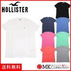 ショッピングホリスター ホリスター Tシャツ メンズ HOLLISTER クルーネック ホワイト 無地