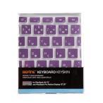 【日本正規代理店品】BEFiNE キースキン MacBook Air 13インチ & Macbook Pro Retinaディスプレイ用 キーボードカバー ベーシック バイオレット BF4545