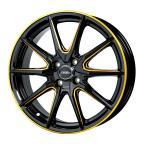 【4穴車用セット】 175/65R15 軽量 クロススピード プレミアム RS10 ブラック+ゴールド 【サマータイヤ ホイールセット】