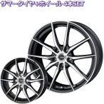 【軽自動車用セット】 14インチ 軽量 ジースピード P-02 【サマータイヤ ホイールセット】