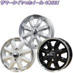 【4穴車用セット】 195/50R16 ララパーム カップ 【サマータイヤ ホイールセット】
