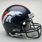 NFL ブロンコス ヘルメット リデル/Riddell Authentic Helmet VSR4