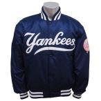 MLB ヤンキース クラシック ジャケット スターター/Starter ネイビー