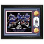 ショッピング2011 NFL ジャイアンツ フォトフレーム ハイランドミント Champs Super Bowl XLVI 24KT Gold Coin Team Photo Mint