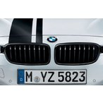 BMW M Performance純正 ブラック・キドニー・グリル F30 F31 左右セット