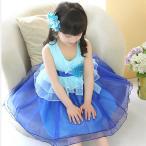 子供ドレス フラワーガール 送料無料 子供服 女の子 ジュニア フォーマル ワンピース 夏 結婚式 七五三 コサージュ