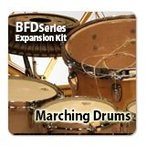 FXPansion / Marching Drums 【 BFD Expansions All 50% OFFキャンペーン】【オンライン納品 / 送料無料】【BFD拡張音源】