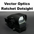 Vector Optics Ratchet ドットサイト 159-224 オープン エアガン 電動ガン