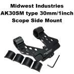 Midwest Indutries AK30SM タイプ スコープ サイドマウント 439-645 AK47 AK74 SVD ドラグノフ
