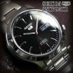 ショッピングセイコー セイコー5 海外モデル 逆輸入 SEIKO5 腕時計 メンズ ブラック文字盤 ステンレスベルト SNK795K1 サイズ調整無料 在庫なくなり次第終了