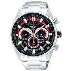 セイコー SEIKO パルサー PULSAR ソーラークロノグラフ腕時計 WRC限定モデル PX5017X1