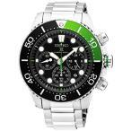セイコー SEIKO プロスペックス PROSPEX クオーツ メンズ 腕時計 SSC615P1 ブラック