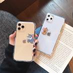 Yahoo!MNVELYトムとジェリー iPhoneケース アイフォンケース 韓国 大人気 可愛い キャラクター 透明ケース クリアケース 個性的