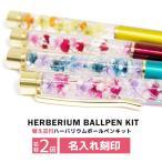 ハーバリウムボールペンキット 名入れ ハーバリウムペン ハーバリウム ボールペン 替芯 花材 手作り キット セット ギフト プレゼント 送料無料