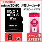 TOSHIBA microSDHCカード SD-ME008GS