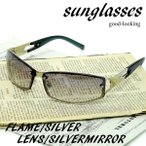 サングラス メンズ 安い UVカット オラオラ系 ちょい悪 ワル系 お兄系 ホスト 伊達メガネ メンズ 人気 9196-4の画像