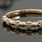 ダイヤモンド 指輪 K18 18金 イエローゴールド リング 送料無料 プレゼント
