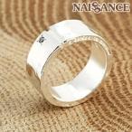 NAISSANCE 送料無料 明日への架け橋 ダイヤ入りメッセージレディースリング