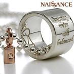 NAISSANCE 送料無料 ダイヤ入りの分銅が心のバランスを保ってくれる balance(天秤)レディースシルバーペンダント