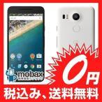 ★キャンペーン中★※〇判定保証書未記入 【新品未使用】docomo版 Nexus 5x 32GB [クォーツ] 白ロム