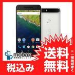 ★キャンペーン中★※〇判定 ※保証書未記入【新品同様品】 SoftBank版 Nexus 6P 64GB [フロスト] 白ロム white
