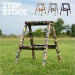 耐荷重100kg 折りたたみ 踏台 脚立 ステップ 踏み台 スツール イス 椅子 step stool(ステップスツール) 2段 H55cm PC-402/PC-502/PC-602