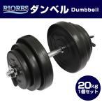 セメントダンベル 20kg 1個 [送料無料] エクササイズ