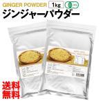 有機JAS認定 オーガニック ジンジャーパウダー 1kg 送料無料 生姜 パウダー 粉末 無添加 無着色 スーパーフード 美容 栄養 香辛料 スパイス
