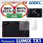 Panasonic LUMIX TX1 用 ノングレア液晶保護フィルム3 防指紋 反射防止 ギラつき防止 気泡消失 ASDEC アスデック NGB-LTX1
