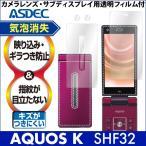 au AQUOS K SHF32 専用  ノングレア液晶保護フィルム3