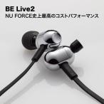 ショッピングFORCE ワイヤレスイヤホン NU FORCE BE Live2 SL 銀 bluetooth イヤホン 防水 iphone android 対応 aac ランニング nuforce belive2