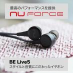 ショッピングFORCE ワイヤレスイヤホン NU FORCE BE Live5 BK 黒 bluetooth イヤホン 防水 iphone android 対応 aac aptx ランニング nuforce belive5