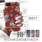 17AW 新作 iPhone8 iPhone7 iPhone6 6s ケース iphoneケース アイフォンケース RICHMOND & FINCH R&F リッチモンド アンド フィンチ 花柄 秋冬