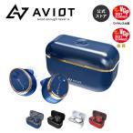 AVIOT TE-D01t ハイブリッドノイズキャンセリング/ANC/ノイキャン/ワイヤレスイヤホン/イヤホン単体18時間連続再生/防水/専用アプリ