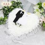 リングピロー (完成品) ブライダル リング ピロー ウエディング 結婚式 小物 ファーストピロー ウェディング ブライダル【リングピロー 03 ハートオブローズ 】