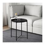 IKEA・イケア GLADOM トレイテーブル, ブラック (004.119.97)