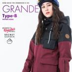 Kスノーボードウェア レディース スキーウェア スノボウェア 上下セット ジャケット パンツ SECRET GARDEN GRANDE-B 2018-2019