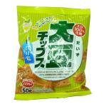 【送料無料】 ノンフライ!  大豆チップス のりしお 50g×10袋セット