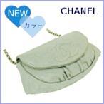 シャネル バッグ CHANEL 財布 チェーンウォレット チェーンバッグ ハーフムーン A40033