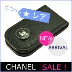 シャネル CHANEL メンズ 財布 マネークリップ 2016 新作 キャビアスキン 黒/ブラック A84054