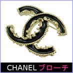 シャネル CHANEL ブローチ アクセサリー レディース 人気 黒/ブラック A61457