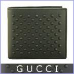 ショッピングGUCCI グッチ GUCCI アウトレット財布 メンズ二つ折り財布 スタッズ 336462