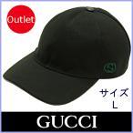 グッチ GUCCI キャップ ベースボールキャップ メンズ レディース 帽子 黒/ブラック サイズL 387554 アウトレット