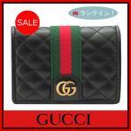 グッチ GUCCI 財布 レディース 二つ折り財布 カードケース 黒/ブラック 536453 アウトレット