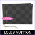 ルイヴィトン LOUIS VUITTON 財布 メンズ 二つ折り財布 ダミエ ポルトフォイユ・パンス N61000