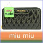 ショッピング ミュウミュウ miumiu 財布 レディース 長財布 リボン ラウンドファスナー 5M0506