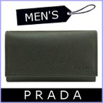 ショッピングPRADA プラダ キーケース メンズ 6連キーケース 黒/ブラック 2M0025 アウトレット