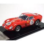 1/43 京商 ミニカー フェラーリ Ferrari 250GTO(No.19/ Le Mans 1962 2nd Place GTClass Winner)